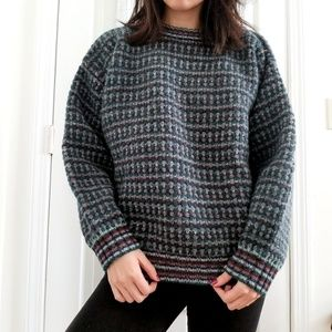 Eddie Bauer Wool Gray Sweater